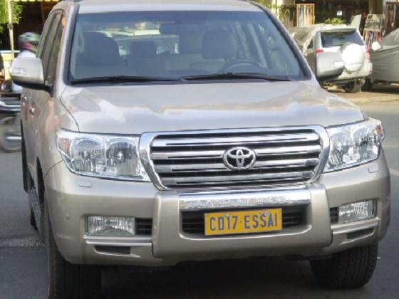 cambodia license plate