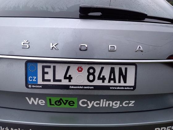 czech republic license plate