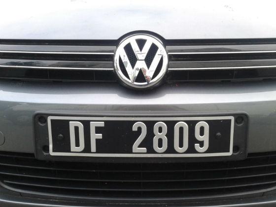 france license plate