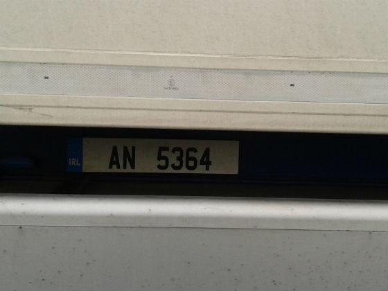 ireland license plate