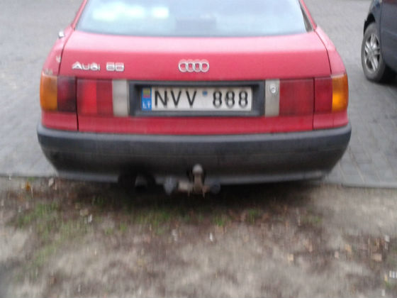 lithuania licence plate