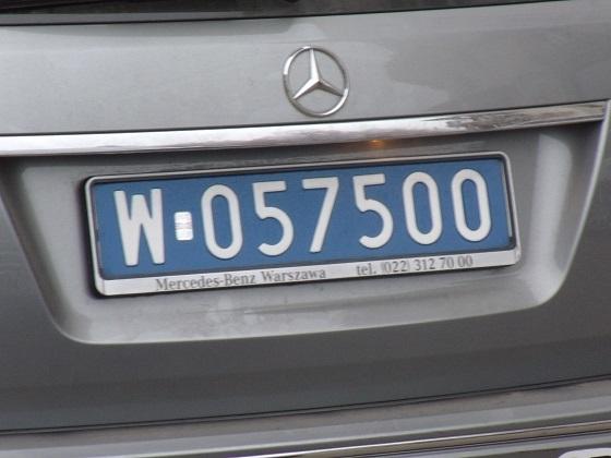 poland license plate