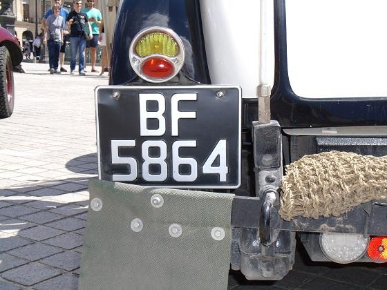 united kingdom license plate